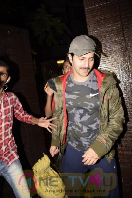 Varun Dhawan Came To Gym In Juhu Pics  Hindi Gallery