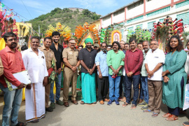 VSP 33 New Movie Pooja Photos