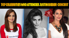 Justin Bieber's Concert Attended By Top 10 Celebrities