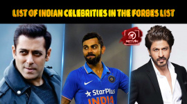 List Of 10 Indian Celebrities Released By Forbes