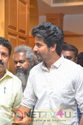 Actor Sivakarthikeyan Press Meet Grand Photos Tamil Gallery