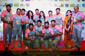 CCL Kerala Strikers Curtain Raiser Stills Tamil Gallery