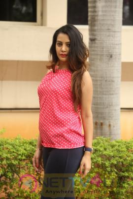 Actress Diksha Panth At Ego Movie Press Meet Images