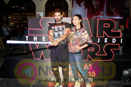Red Carpet Premiere Of 2017's Most Awaited Hollywood Film Disney Star Wars  Stills