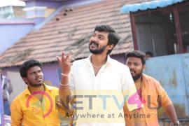 Actor Darshan Stylish Stills At Kanaa Movie