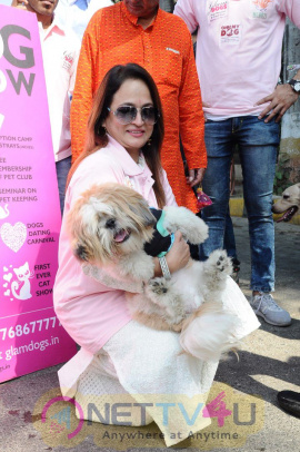 Smita Thackeray & Sankalp Sharma Present At The Dog March Photos Hindi Gallery