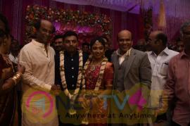 Superstar Rajinikanth At Vagai Chandrasekar Sir's Family Wedding Reception Still Tamil Gallery