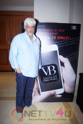 Vikram Bhatt At The Launch Of His OTT Platform VB On The Web Pics