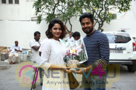 Actor Aari Birthday Celebrated Images