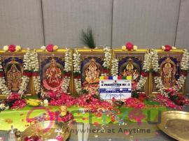 Atharvaa Murali And Director Kannan New Film Production No.3 Pooja Pics Tamil Gallery
