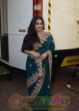 Actress Vidya Balan New Traditional Look Pics