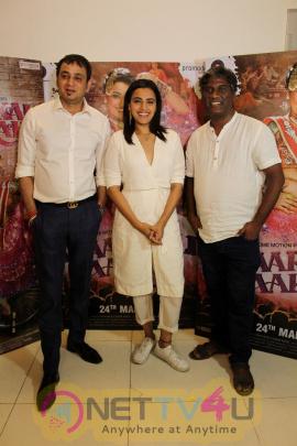 Nterview With Swara Bhaskar, Avinash Das & Sandip Kapoor For Film Anaarkali Of Aarah  Photos Hindi Gallery