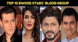 Top 10 Bollywood Stars And Their Blood Group