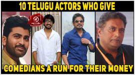 10 Telugu Actors Who Give Comedians A Run For Their Money