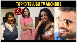 Top 10 Telugu TV Anchors