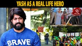 Yash As A Real Life Hero