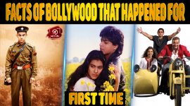 Facts Of Bollywood That Happened For The First Time