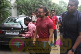 Aamir Khan Veda Session In Whistling Woods