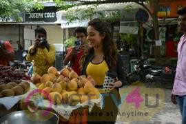 Nushrat Barucha Spot To Bandra Photos