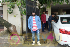 Pritam Chakraborty Went To Dubbing Studio Stills