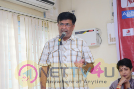 Actor Y G Mahendran Press Meet Regarding YGP's 100th Birth Centenary Celebration Photos Tamil Gallery