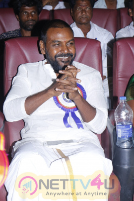 Mother Teresa On The Occasion Of The 108th Birthday Of Mother Teresa Was Awarded To Raghava Lawrence Stills