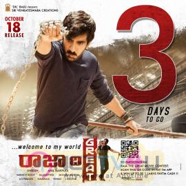 Raja The Great Movie 3 Days To Go Poster Telugu Gallery