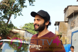 Jackky Bhagnani Meet Smile Foundation Kids To Celebrate Children Day  Pics
