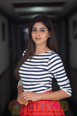 Anchor Cum Heroine Varshini at Rajmundry GIET Collage Telugu Gallery