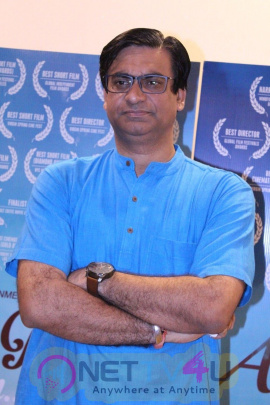Director Mrigank Dubey Hold Special Screening Of His Film Adhure Pure Se Hum Hindi Gallery