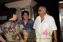 Sajid Nadiadwala, Sajid Khan And Boney Kapoor Came At Ekta Kapoor Home