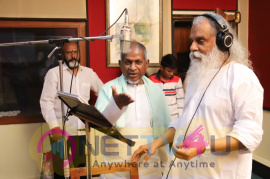 After 10 Years Singer K.J.Yesudas Joins In Vijay Antony's Thamizharasan Movie Pics