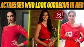 10 Actresses Who Look Gorgeous In Red