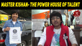 Master Kishan- The Power House Of Talent