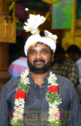 Actor Sivakarthikeyan New Film Pooja Images