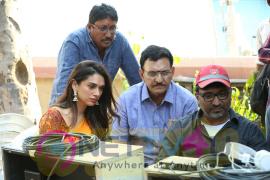 Sammohanam Movie Working Stills Images