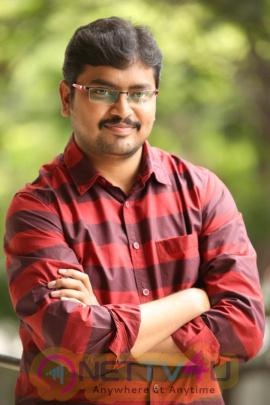 Vijetha Movie Director Rakesh Interview Stills  Telugu Gallery