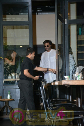 Anil Kapoor Spotted At Bandra Best Images
