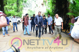 Sanjay Dutt Spotted At Mehboob Studio In Bandra Superb Images