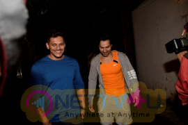 Varun Dhawan Spotted At Gym In Juhu Best Images Hindi Gallery