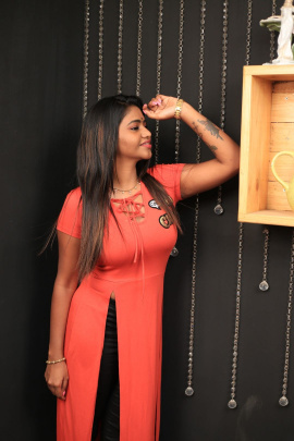 Actress Shalu Shamu Exclusive Interview Images Tamil Gallery