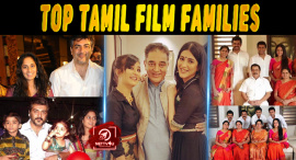 Top 10 Tamil Film Families