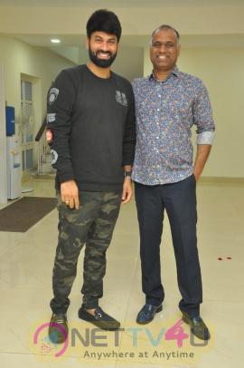 Krishnam Raju Family Watched It Raju Gari Gadhi 2 Movie Photos