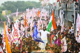 JanaSena Party Political Awareness Meeting Pics