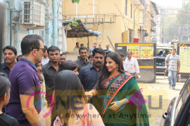 The Special Designer Sari Collection By Vidya Balan  & Manav Kaul At Gopi Vaid Stills