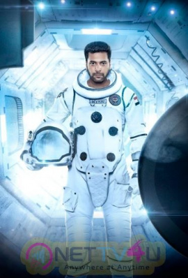 Actor Jayam Ravi At Tik Tik Tik Movie Images