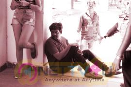 Rogue Telugu Movie Working Stills