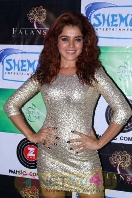 Piaa Bajpai Stills At Mirza Juliet Music Launch Pics