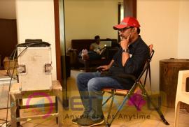 Sammohanam Movie Song Working Images