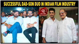 In Indian Film Industry Successful Dad-Son Duo